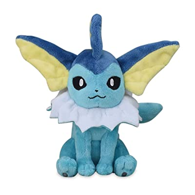 Vaporeon Plush #134 Pokémon Fit Official Gotta Catch 'Em All!: Clothing