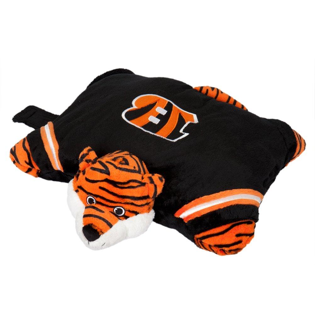 amazon com nfl cincinnati bengals pillow pet sports u0026 outdoors