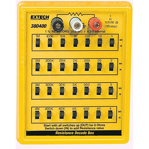 [해외]Extech 380400 저항 상자/Extech 380400 Resistance Decade Box