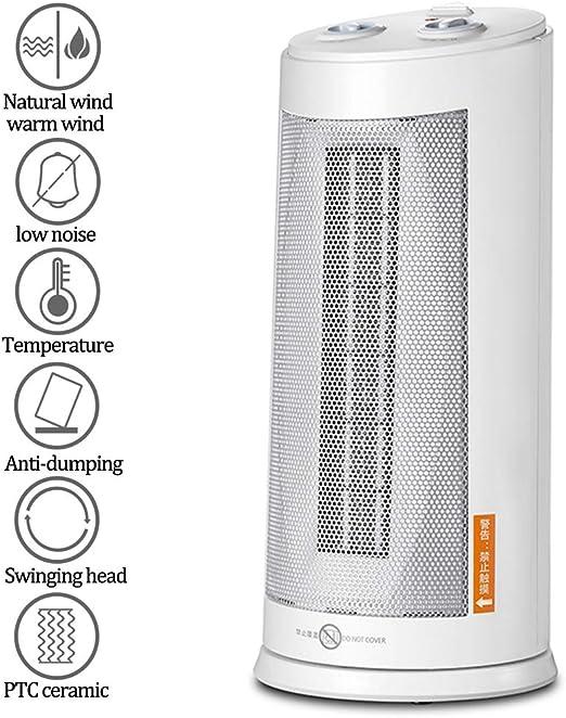 Ventilador Torre, Silence Calefactor 3 Niveles de Potencia y Modo ...