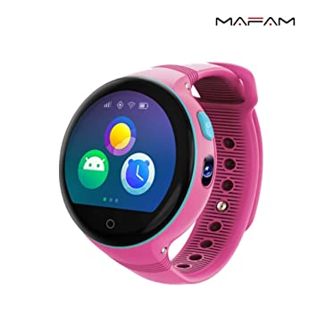Smartwatches para niños niñas Bluetooth teléfono relojes con GPS rastreador AGPS+LBS ubicación con SOS