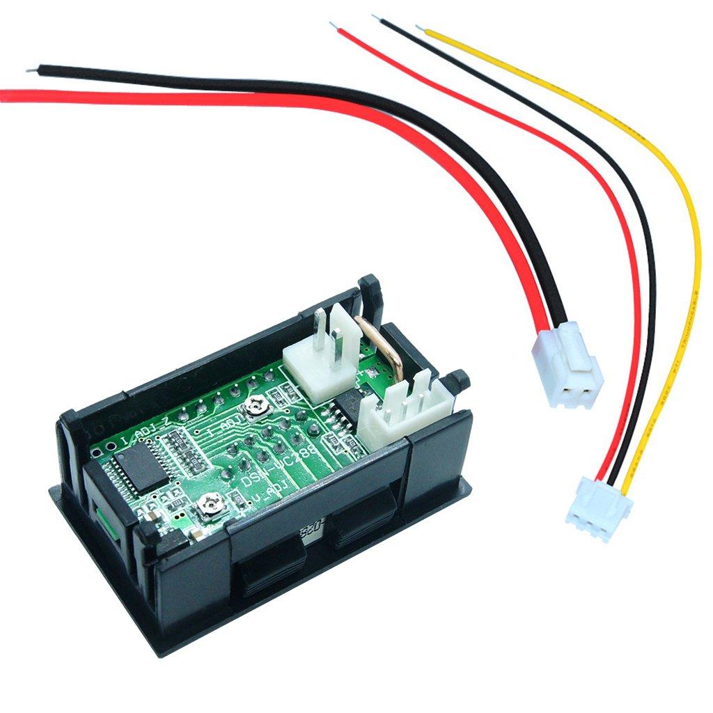 huanban072 DC100V 10A Digital Voltmeter Ammeter Current Meter Tester Panel Amp Volt Voltage