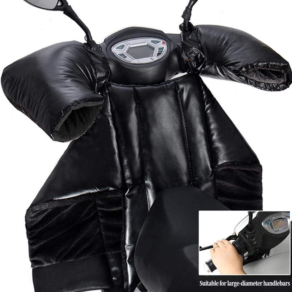 Bein Knie Warm Protector Shield RecoverLOVE Motorrad Winter Windschutzscheibe Quilt Motorrad Bein Sch/ürze Sch/ürze Abdeckung Winter Winddicht Warm Beinschutz mit Griffhandschuhen