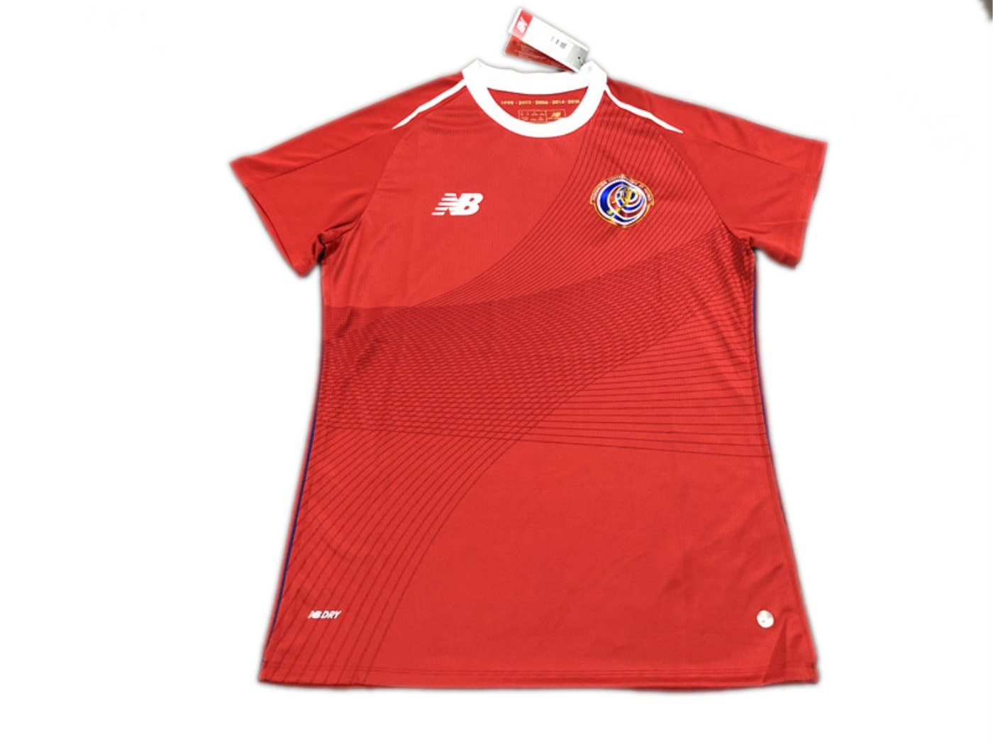 TI Soccer jersey Costa Rica home red women 2018 World Cup  Amazon.co.uk   Sports   Outdoors 1c1bcccc9
