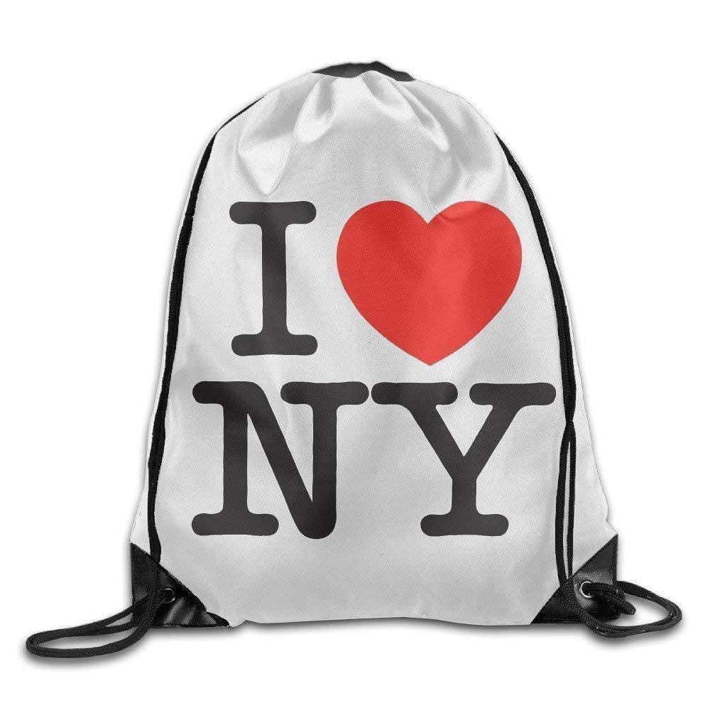 Dutars i Love NY borsa sportiva coulisse zaino da viaggio//zaino