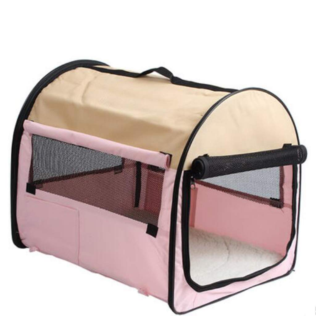 FJH Pet Mosquito Tent Cage Teddy Kennel Collapsible Travel Bag Portable Cat Cage Out Bag Dog Bag