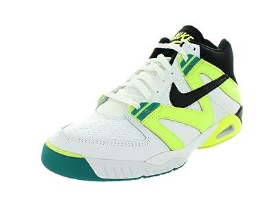 Nike Air Tech Challenge III Herren Weiß Leder Turnschuhe EU
