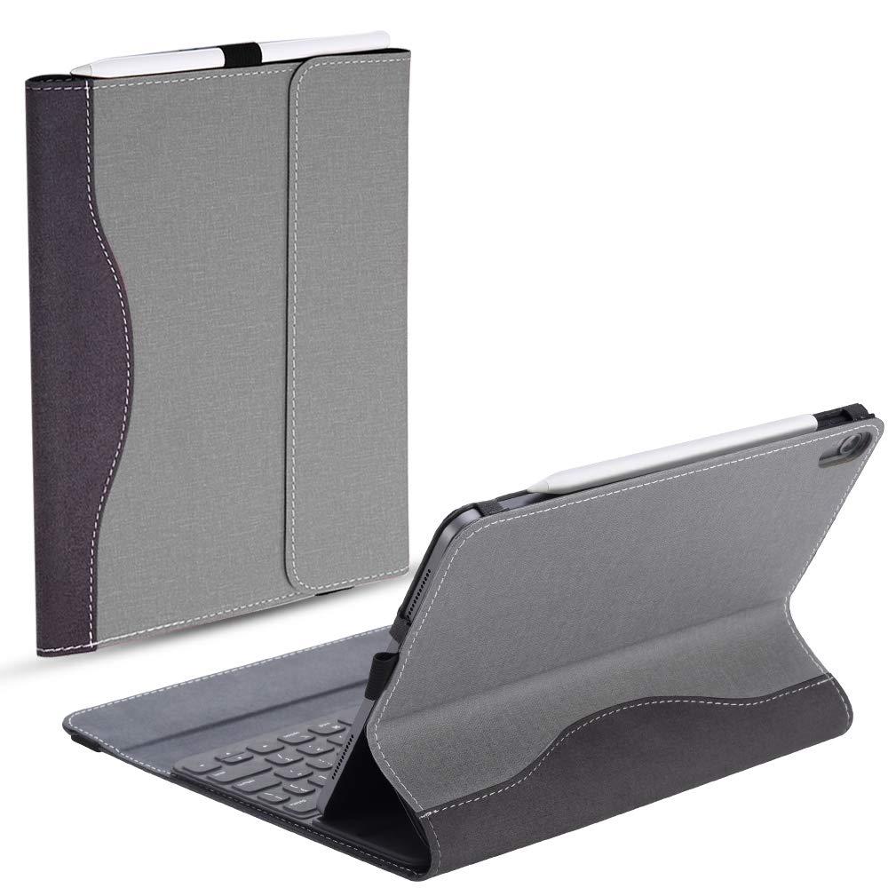 買い保障できる TOTOOSE iPad グレー, Pro 11インチ 11インチ 2018ケース 財布ケース フラッププレミアムPUレザーフリップ, グレー, IZ01-JK-984 TOTOOSE グレー B07L4BNZFK, KAMIEN:4b08b34d --- a0267596.xsph.ru