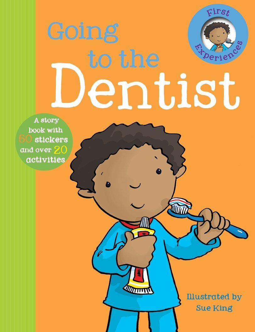 Going To The Dentist First Experience Sticker Storybook Parragon