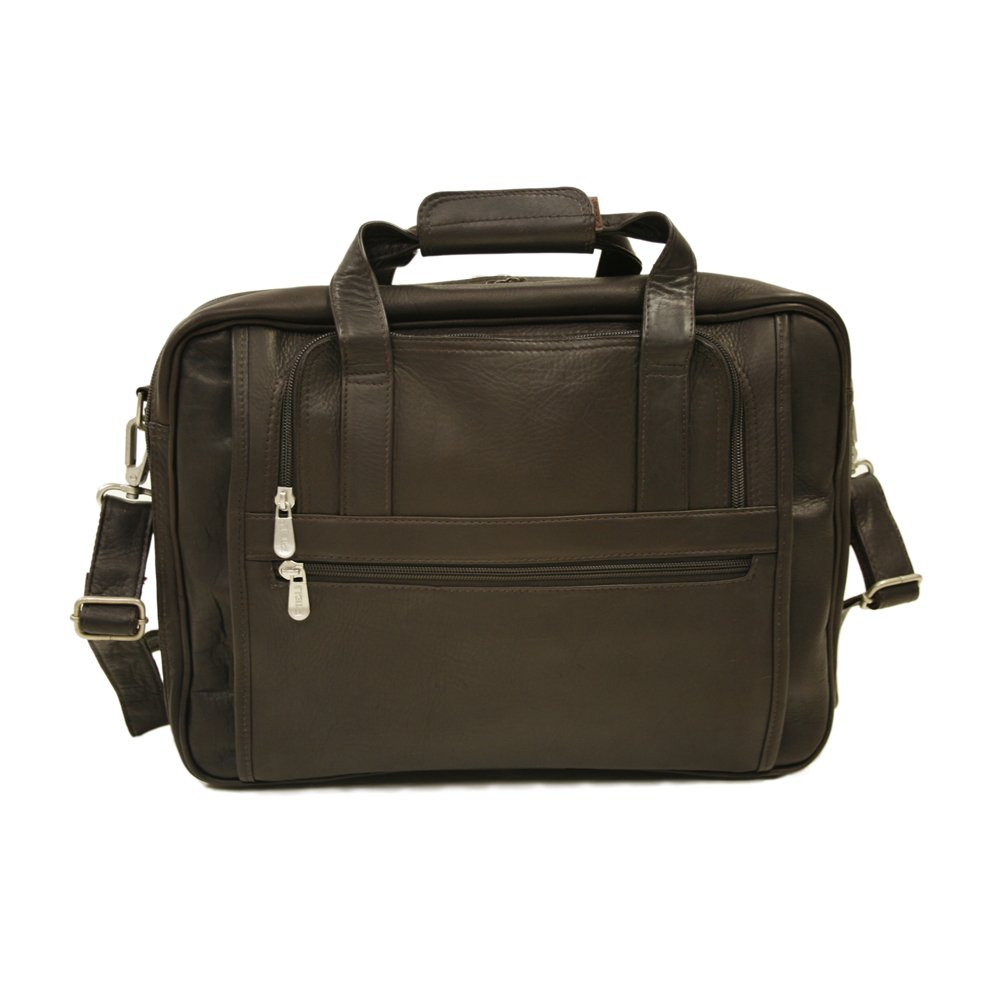 Piel Leather 2930-CHC Large-Ultra Compact Computer Bag - Chocolate   B0041X19SE
