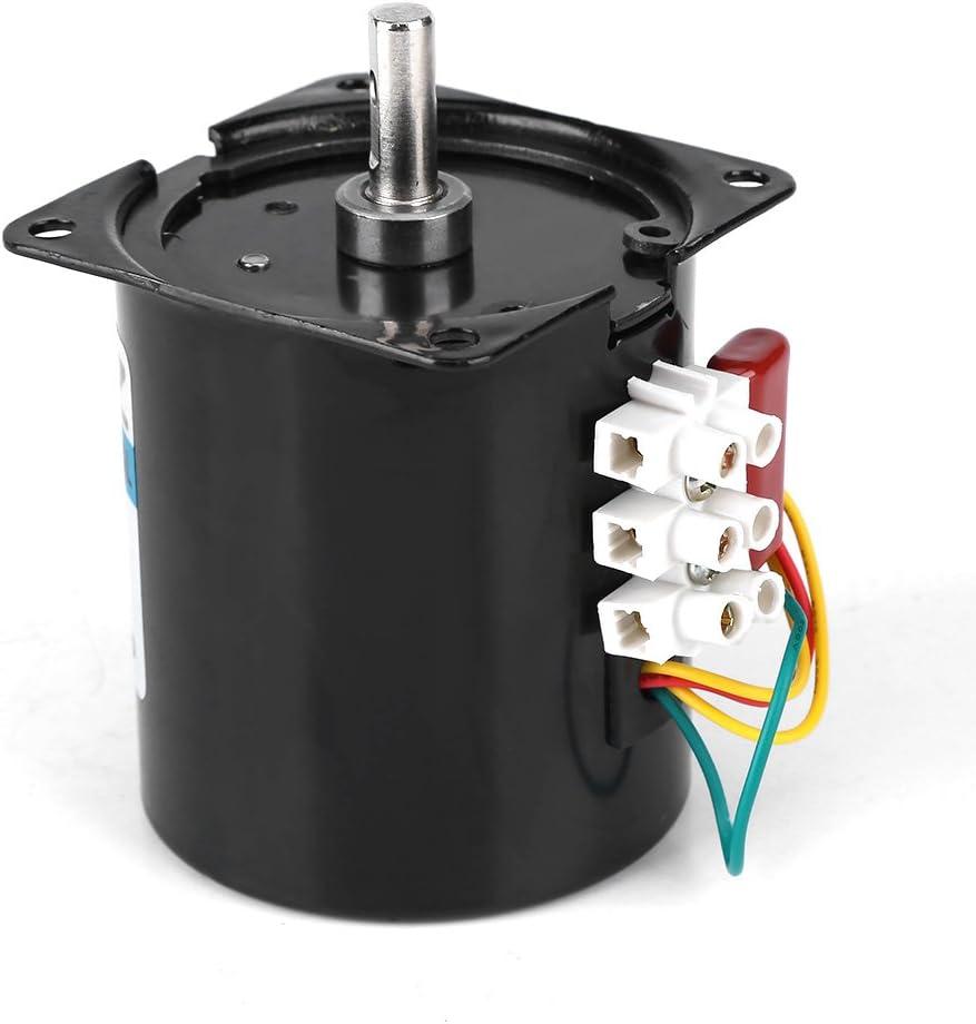 # 4 Velocidad Constante de Engranajes met/álicos de producci/ón de Alambre de Cobre Utilizado en automatizaci/ón de Instrumentos AC220V 10W 0.5A 2.5 20r // min Motor s/íncrono