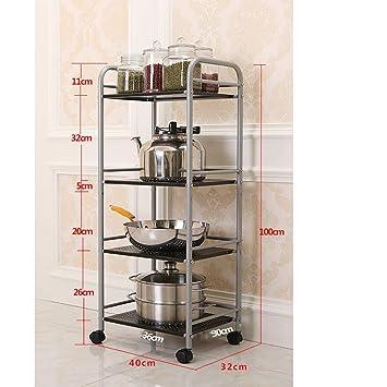 CFstc Estante de Cocina de 4 Niveles Parrillas para hornos ...