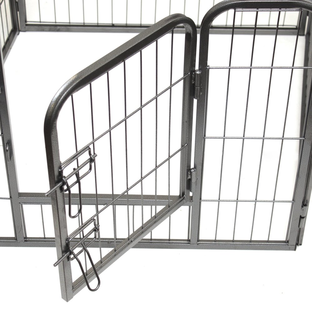 Oxgord heavy duty metal pet exercise pen door