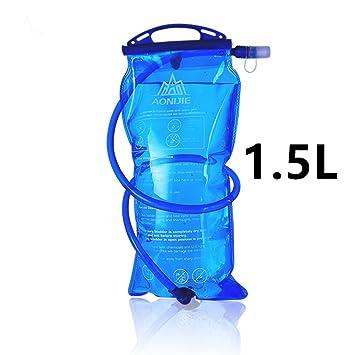 Bolsa de agua plegable Aonijie, ideal para salir a correr o realizar actividades al aire libre, tipo montañismo (1 / 1,5 / 2 / 3 l)
