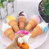 TWIFER 10 cm Eis Squishy Langsam Steigenden Spielzeug Simulation Kuchen Handy Straps Brot