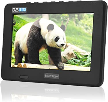 7 Pulgadas TV Digital DVB-T-T2 Portátil,16: 9 HD Reproductor de ...