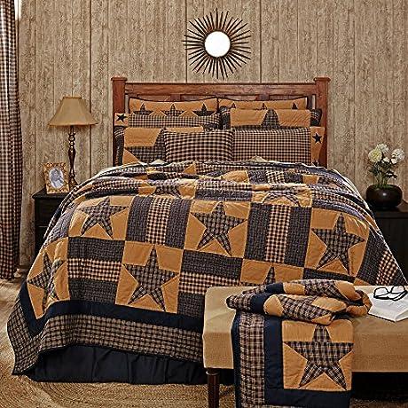 Teton Star Luxury King Quilt Bundle 4 Piece Set Set Contents 1 Luxury King Quilt 105 X 120 2 King Shams 21 X 37 1 King Bed Skirt 80 X 78