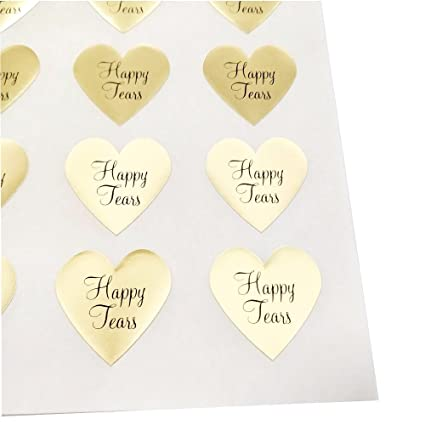 Amazon Happy Tears Stickers By Once Upon Supplies Seals And