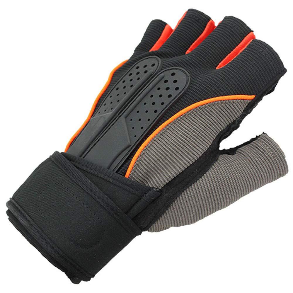 YIWANGO Halbe Fingerhandschuhe Für Männer Radfahren Fitnesstraining Outdoor Sports Wanderhandschuhe,1-M