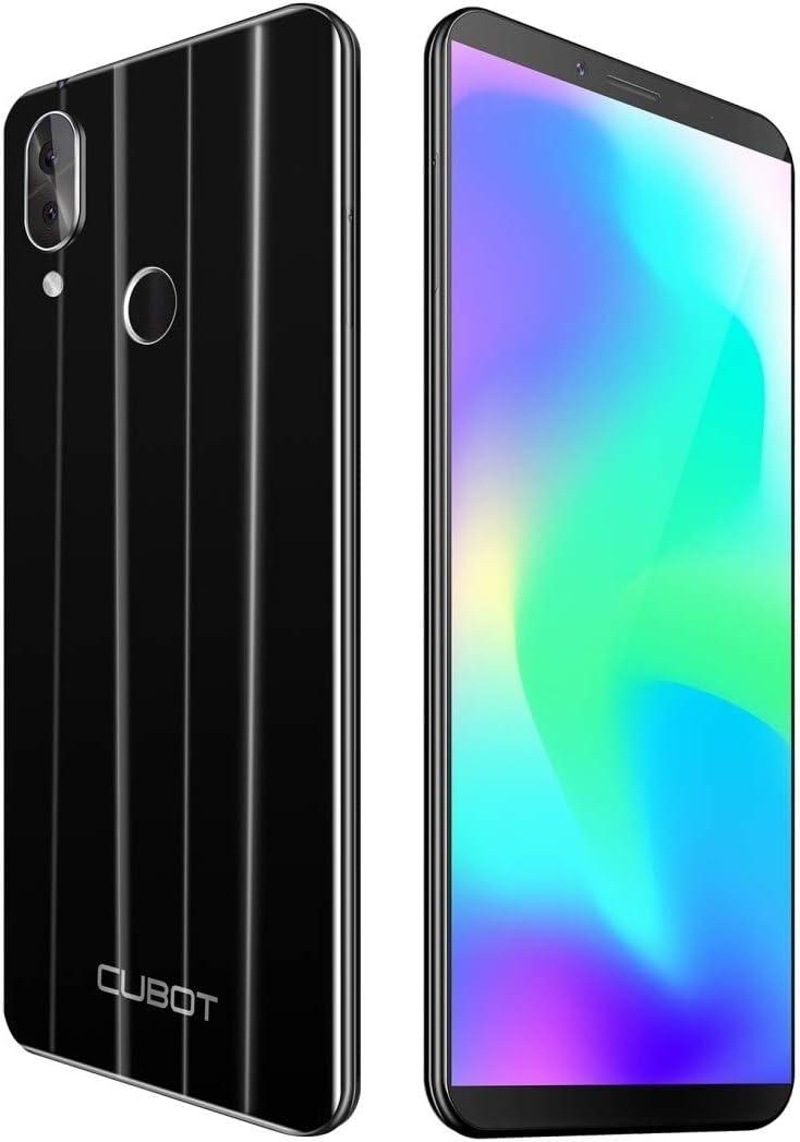 Cubot X19 - Smartphone 4G (64 GB, Dual SIM), color negro: Amazon ...