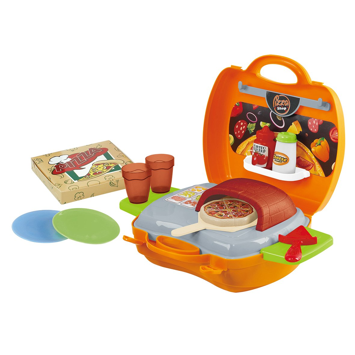 PlayGo My Carry Along Pizza Shop (21 Piece)