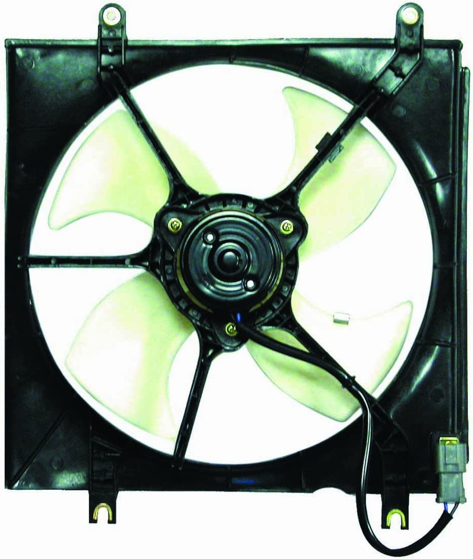 DEPO 317-55014-100 Replacement Engine Cooling Fan Assembly (This product is an aftermarket product. It is not created or sold by the OE car company)