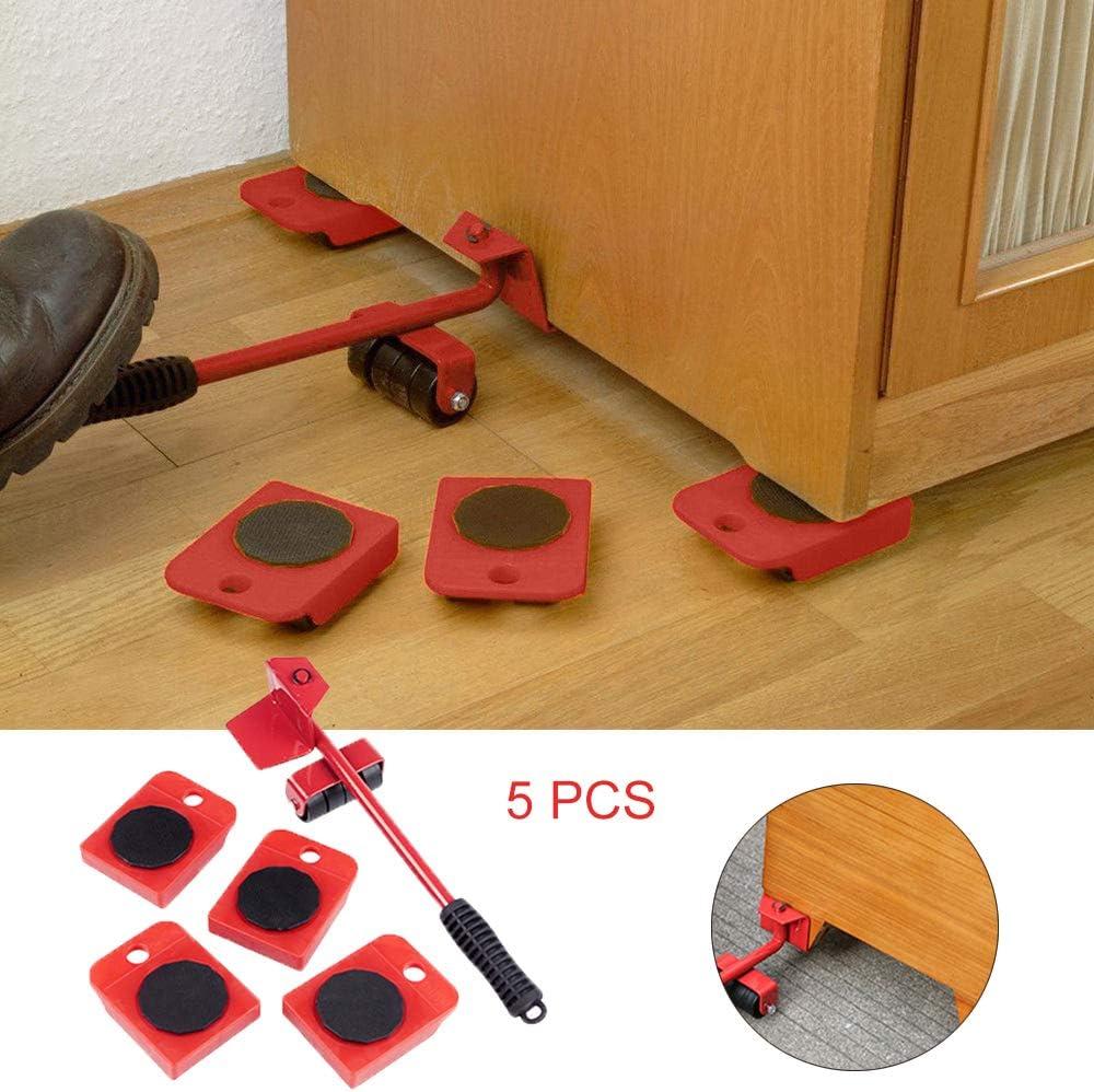 Kinberry Lot de 5 leviers de levier de vitesses robustes pour meubles ou objets lourds