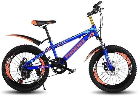 Bicicletas para niños Bicicleta de montaña Bicicleta de 20 pulgadas con velocidad variable Para niños Niño Niña Ir a la escuela Bicicleta Niños de interior Practicar bicicleta Bicicleta al aire libre: Amazon.es: