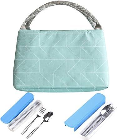 CHRISLZ Almuerzo Bolsas Aislamiento Handheld Impermeable Pack ...