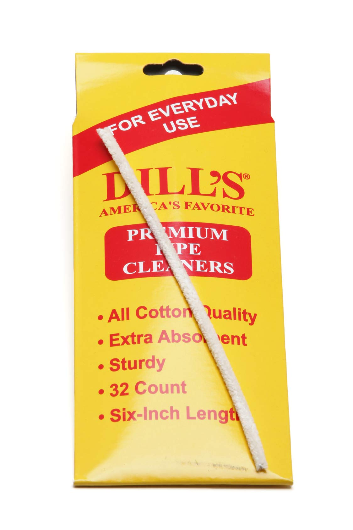 Dill's Daily Tobacco Pipe Cleaner (12 Pack) by Dill's Daily