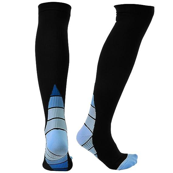 VBIGER 1-4 pares Calcetines de Compresión Deportivos Running para hombres y mujeres: Amazon.es: Ropa y accesorios