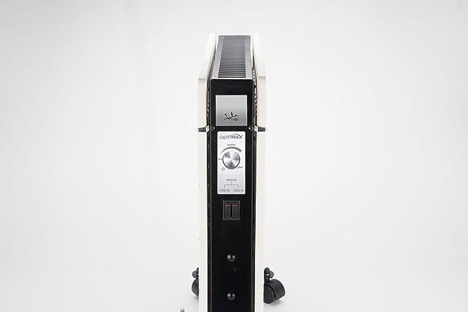 Jata DKX2000C Acumulador de silicio, 2000 W, Acero, Blanco: Amazon.es: Hogar