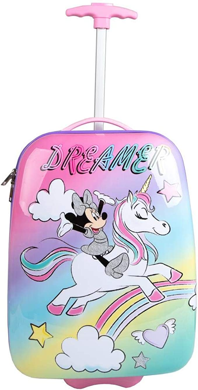 Amazon.com: Disney Minnie Mouse Roller Travel Suitcase: Clothing