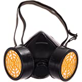 UEB Dual Gas Filter Anti Dust Paint Respirator Mask Goggles Industrial Safety