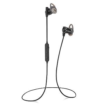 CM-7 Auriculares Inalámbricos Bluetooth,IPX4 Resistente al Sudor Deportes Auricular Bluetooth V4.1 inálambrico Magnético Estéreo Headset Reduce del ruido ...
