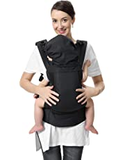 Breathable Soft Baby Carrier, ADDSMILE 3 in 1 Convertible Infant Backpack Carrier Front and Back Carry with Air Mesh for Infant Toddler Child