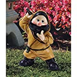 Far East Garden Fighters Gnome Statue: Ninja --P#EWT43 65234R3FA808010