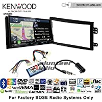 Volunteer Audio Kenwood Excelon DNX994S Double Din Radio Install Kit with GPS Navigation Apple CarPlay Android Auto Fits 2003-2005 Nissan 350Z (With Bose)