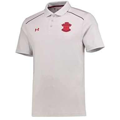 3397995004d Under Armour Southampton FC 17 18 Players Football Polo Shirt - Glacier  Grey  Amazon.co.uk  Clothing