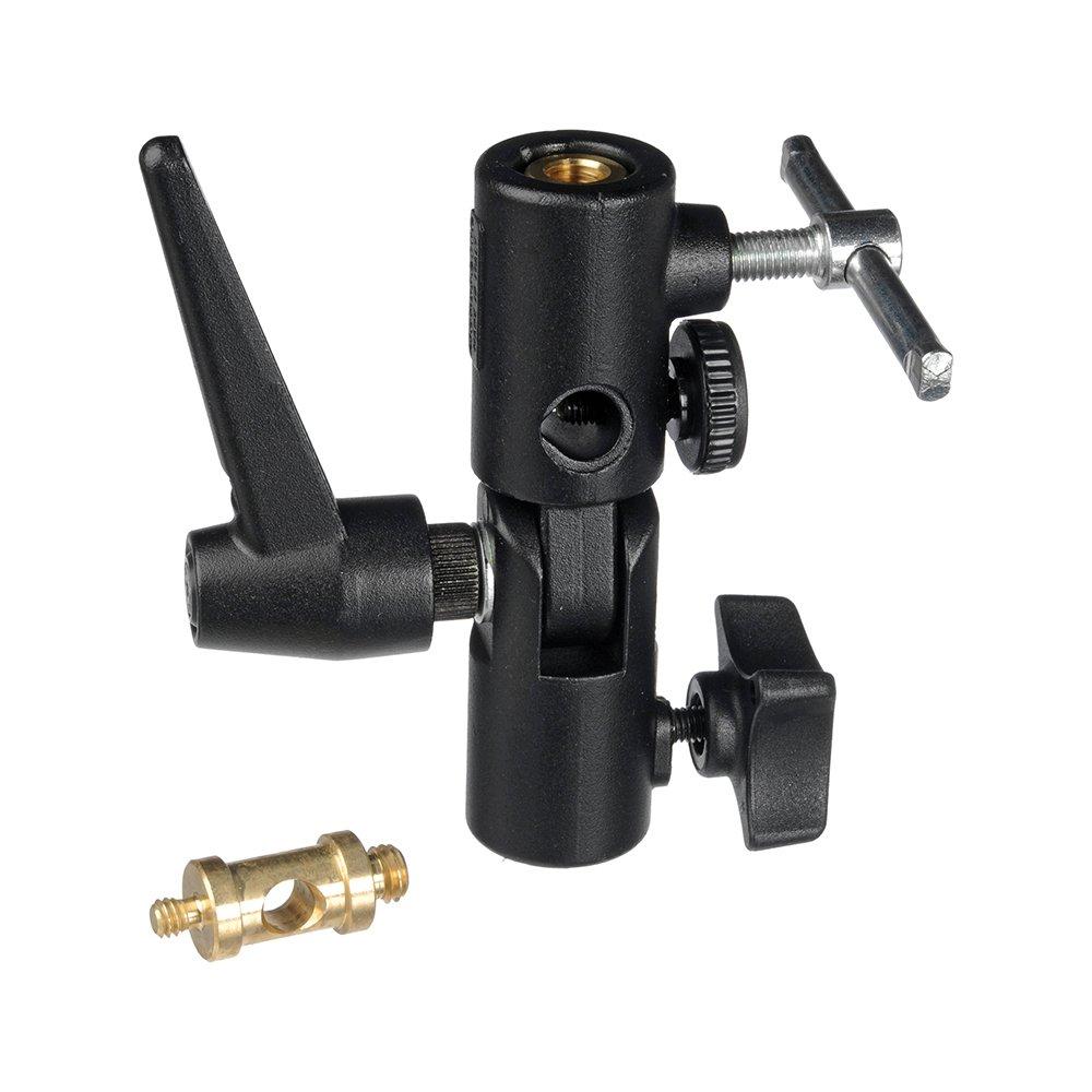 Light Stand Head Adapter: 026 Swivel Lite-Tite Receptacle Umbrella Adapter