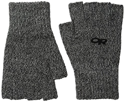 Outdoor Research Fairbanks Fingerless Gloves, Charcoal, Small/Medium