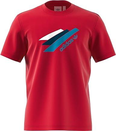 adidas Camiseta Palmeston Roja Hombre: Amazon.es: Deportes y aire libre