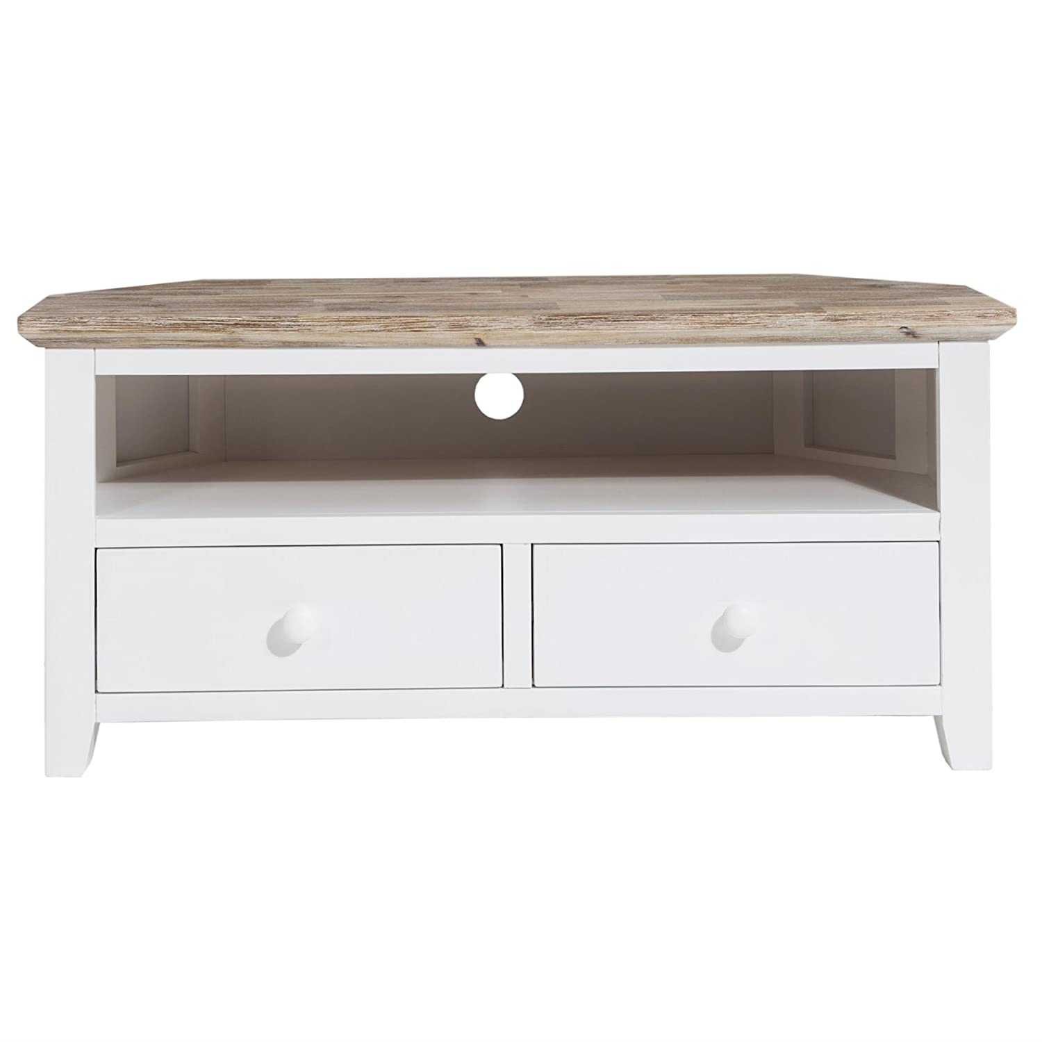 Cool Florence White Tv Corner Unit With 2 Drawers Quality Corner Download Free Architecture Designs Grimeyleaguecom