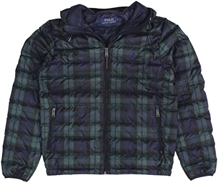 ea368021fa2b RALPH LAUREN Polo Men s Packable Hooded Down Jacket Small Multi at ...