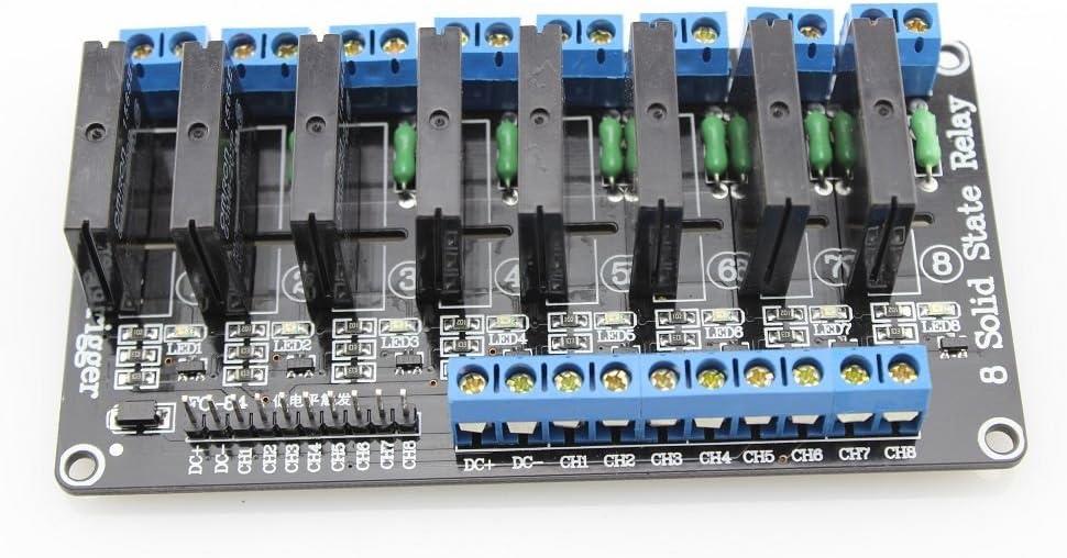 8/canal Solid State M/ódulo de rel/é 5/V//230VAC