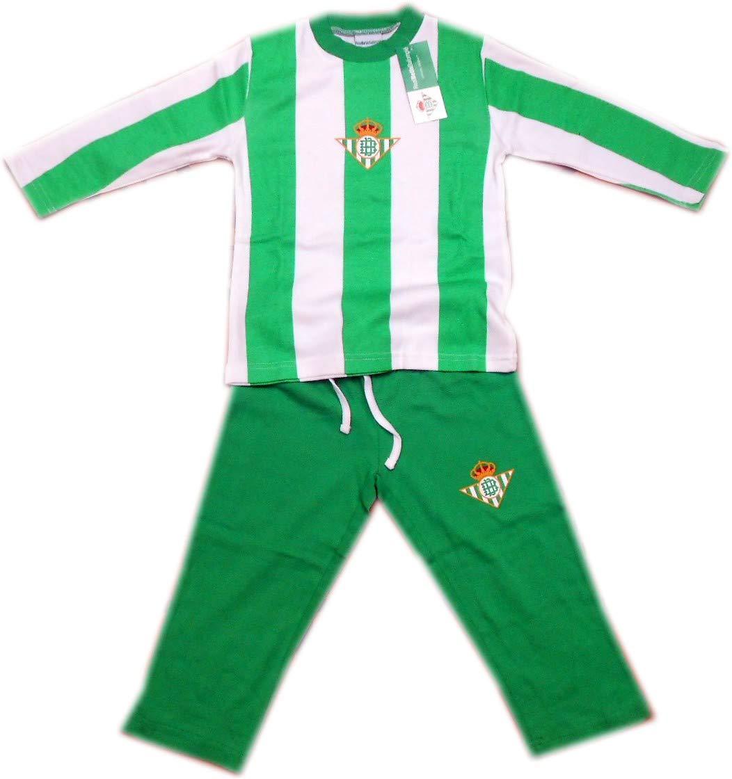 Pijama Real Betis invierno niño - 12: Amazon.es: Deportes y aire libre