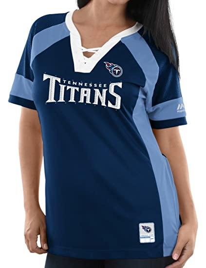 online store 67a5d c2abb Amazon.com : Majestic Tennessee Titans Women's NFL Draft Me ...
