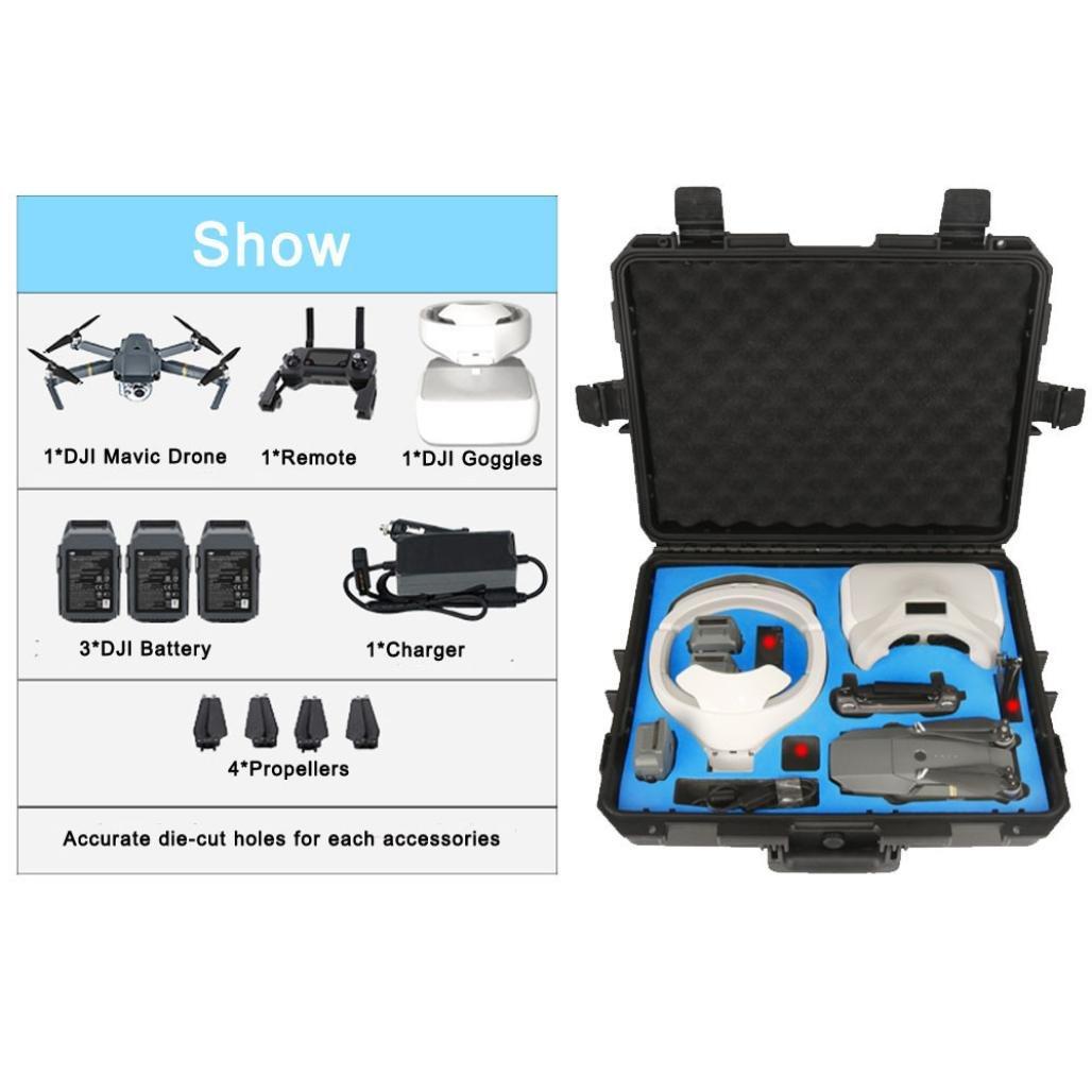 Boyiya New Waterproof Handbag Case Protective Case Stronge Hard Bag For DJI Mavic Drone