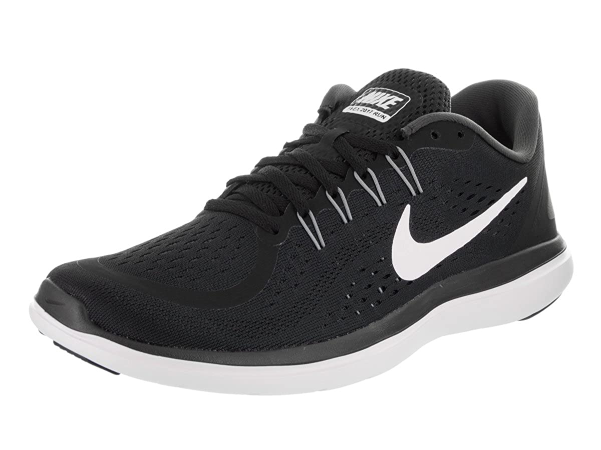 59e8f5f4acd57 Nike Men's Flex 2017 Rn Black/White/Anthracite Running Shoe 10. 5 Men US:  Buy Online at Low Prices in India - Amazon.in