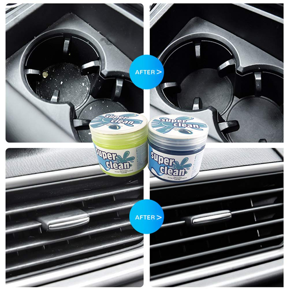 TOMINE Car Cleaning Gel,Cleaning Mud for Cars Keyboard Cleaner Car Cleaning Slime Cleaning Putty Car Detailing Kit Car Cleaning Kit Car Cleaning Supplies